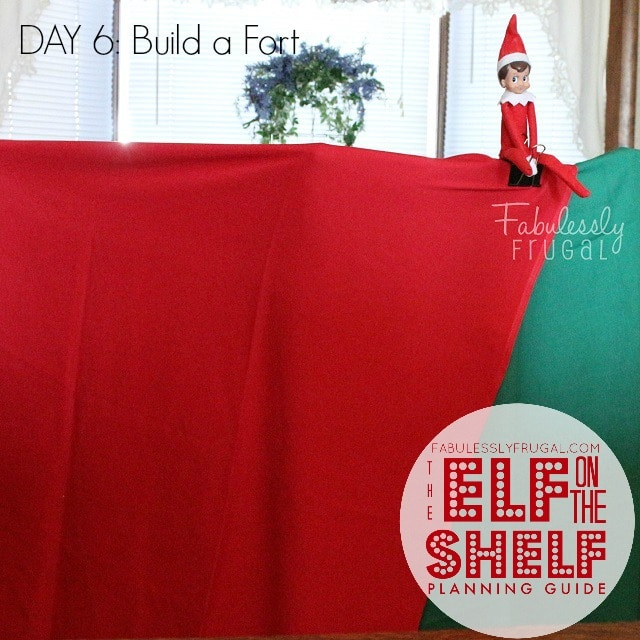 25 Days of Elf on the Shelf Ideas: Day 6