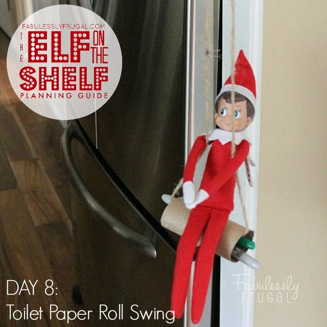 25 Days of funny Elf on the Shelf Ideas: Day 8