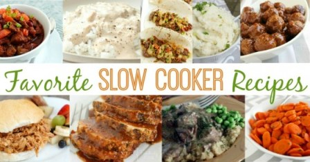 favorite slow cooker recipes crock-pot recipes