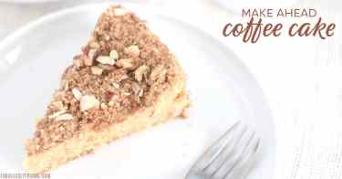 overnight coffee cake with sour cream