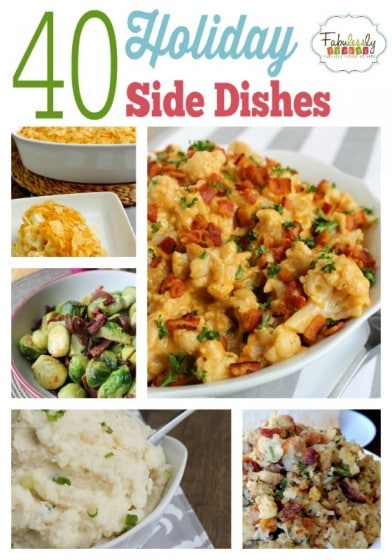 40 Holiday Side Dishes