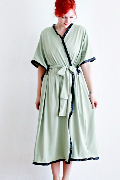 DIY bathrobe