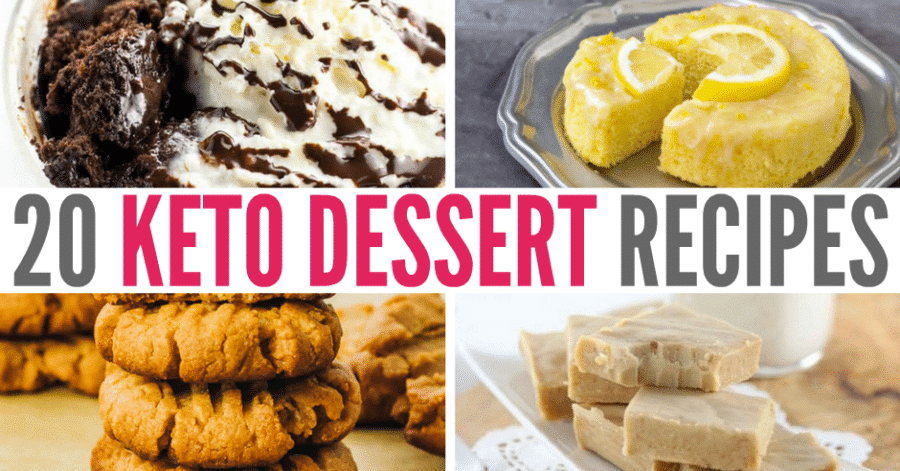 20 Easy Keto Dessert Recipes