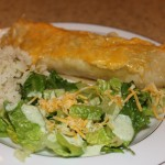 cafe rio style burrito and salad: healthy freezer meals