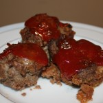 meat ball loaf minis recipe: frugal freezer meals