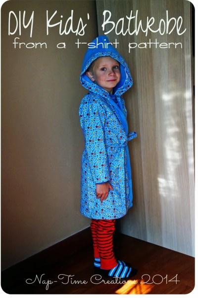 DIY robe for kids