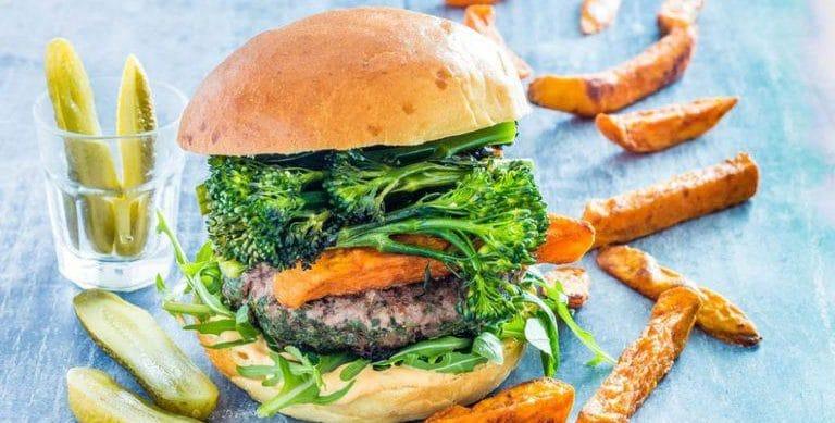 Herb Loaded Beef Burgers Recipe