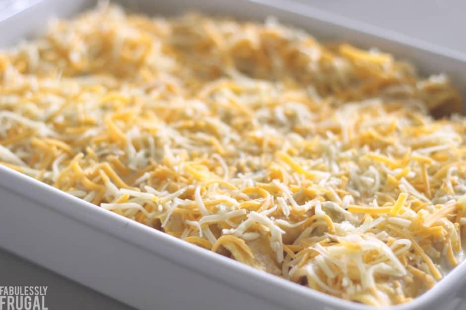 freezer meal chicken enchiladas recipe