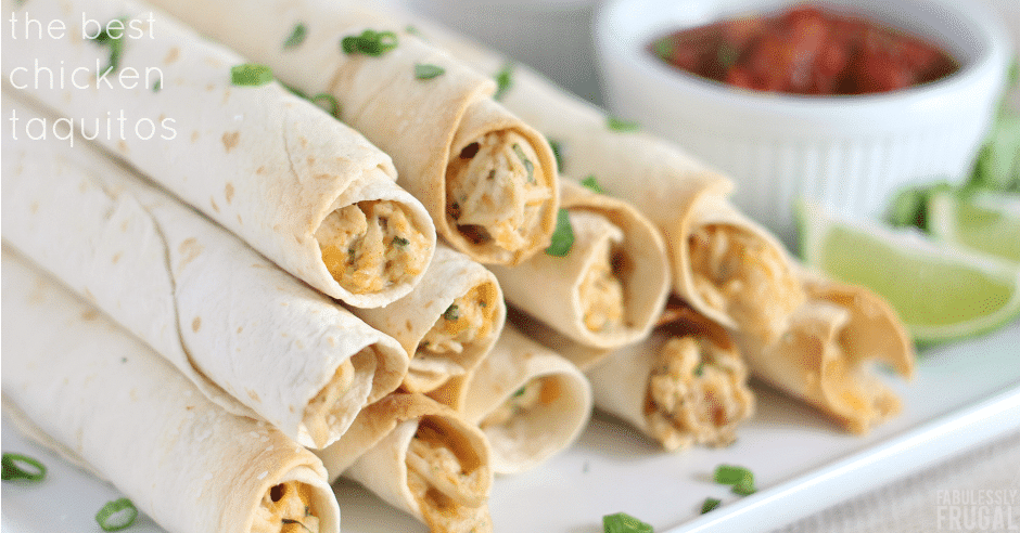 The best chicken taquitos