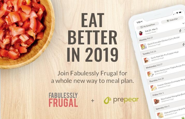 prepear best online meal planning app