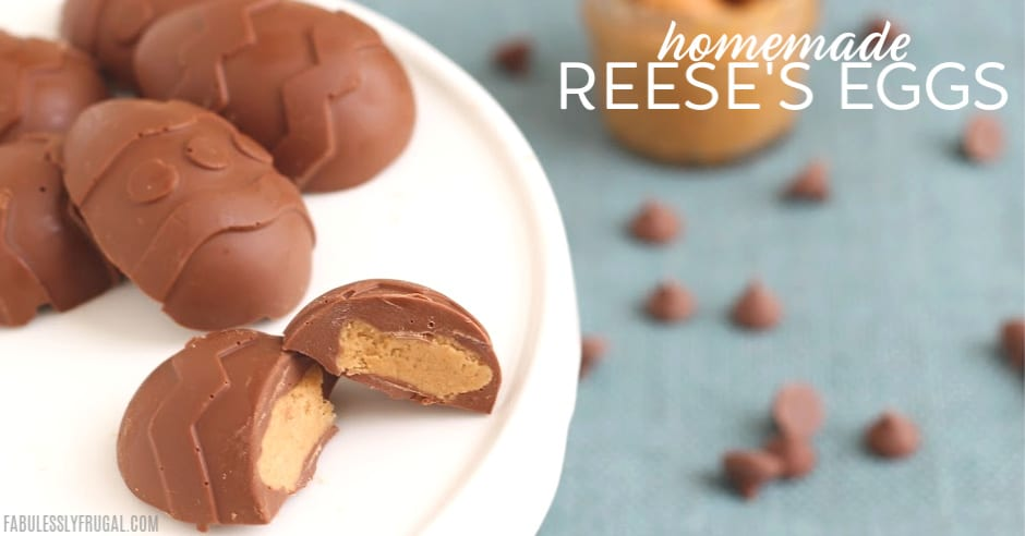 Reese's chocolate peanut butter egg recipe
