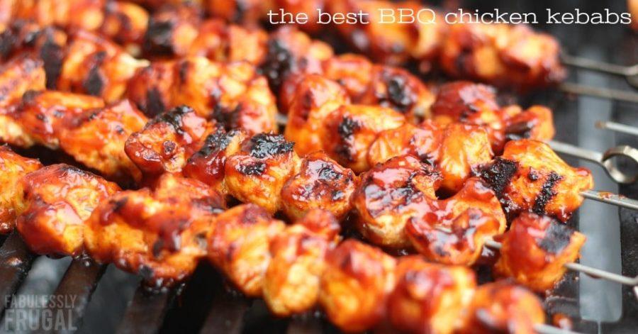 The best bbq chicken kababs