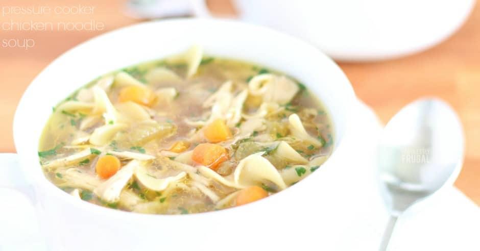 The best instant pot chicken noodle soup recipe