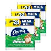 Amazon: 18 Pack Charmin Ultra Gentle Toilet Paper Mega Rolls as low as...