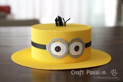 DIY Minions Hat