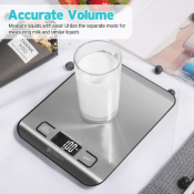 Amazon: Digital Kitchen Scale Multifunction Food Scale $9.95 (Reg. $18.99)