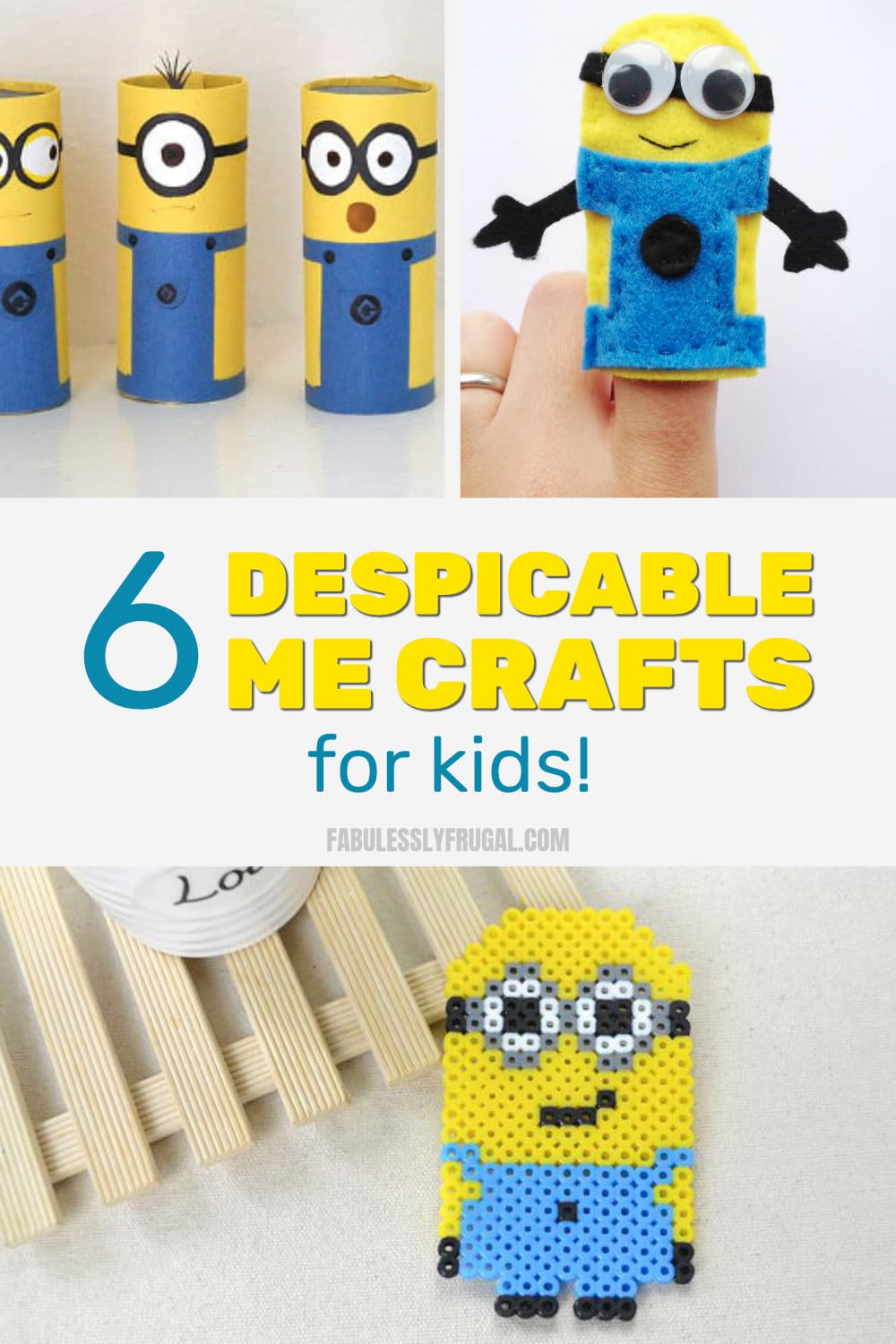 Despicable me crafts for kids