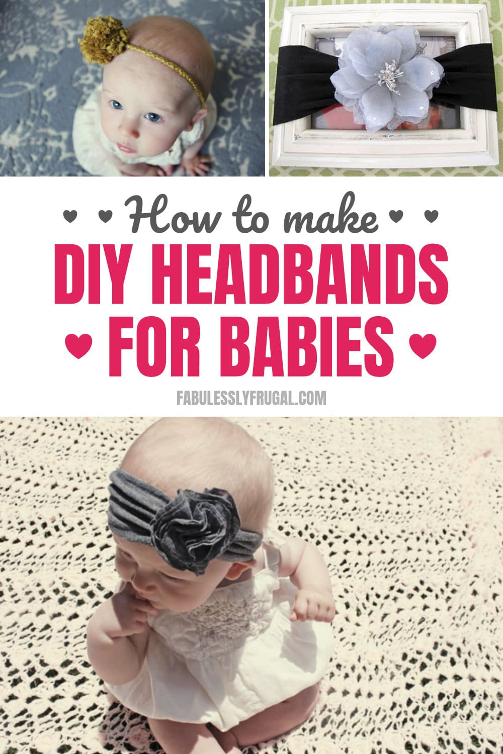 How to make headbands for babies