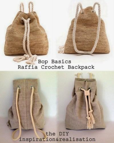 DIY rucksack backpack