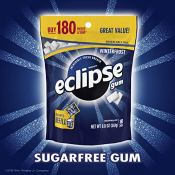 Amazon: 180 Count Eclipse Winterfrost Sugarfree Gum as low as $4.68 (Reg....