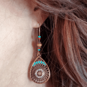 Amazon: Pretty Bohemian Earrings $2.08 (Reg. $4.99) + Free Shipping