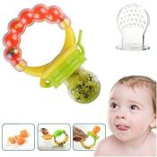 Amazon: Baby Food Feeder Silicone Squeeze Spoon and Pacifier $14.99 (Reg....