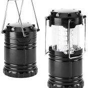 Amazon: 2-Count Bright LED Collapsible Camping Lanterns $5.99 (Reg. $9.99)