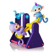 Amazon: WowWee Fingerlings Playset – See-Saw with 2 Baby Monkey Toys...