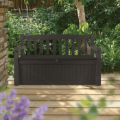 Amazon: 70 Gallon All Weather Outdoor Patio Storage Bench, Brown $109 (Reg....