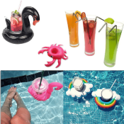 Amazon: 9 Packs Inflatable Drink Holders $9.99 (Reg. $14.99)