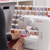 Amazon: SINGER Start with 6 Built-in Stitches, Free Arm $74 (Reg. $159.99)...