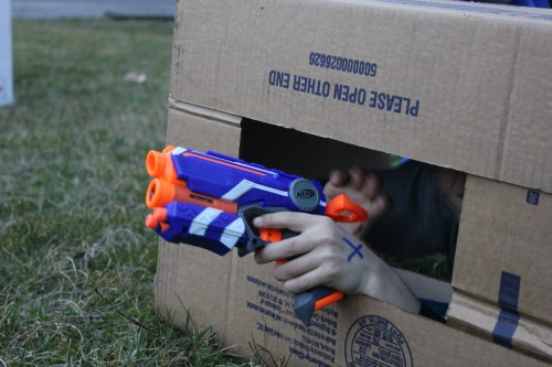 Nerf gun party ideas