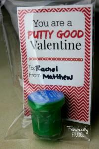 putty good valentine card