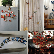 Amazon: 24 PCS 3D Butterfly Wall Stickers $5.69 (Reg. $10.99)