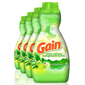 Amazon: 4 Count Gain Liquid Fabric Softener 41 fl oz Bottles as low as...