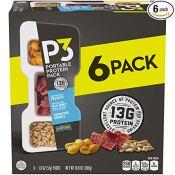 Amazon: 6 Pack Planters P3 Peanuts, Ham Jerky & Sunflower Kernels Protein...