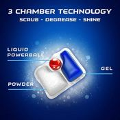 Amazon: 82ct Finish Quantum Dishwasher Detergent - Powerball Ultimate Clean...