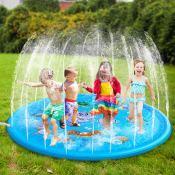 Amazon: 68″ Inflatable Water Sprinkler Pad & Sprinkle Play Mat  $19.99...