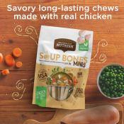 Amazon: 8 Count Rachael Ray Nutrish Soup Bones Minis Dog Treats as low...