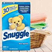 Amazon: 80-Ct Snuggle Fabric Softener Dryer Sheet as low as $3.64 (Reg....