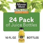Amazon: Minute Maid Orange Juice, 24 pack as low as $11.76 (Reg. $28.99)...
