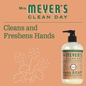 Amazon: Mrs. Meyers Clean Day Hand Soap, Geranium, 12.5 fl oz as low as...