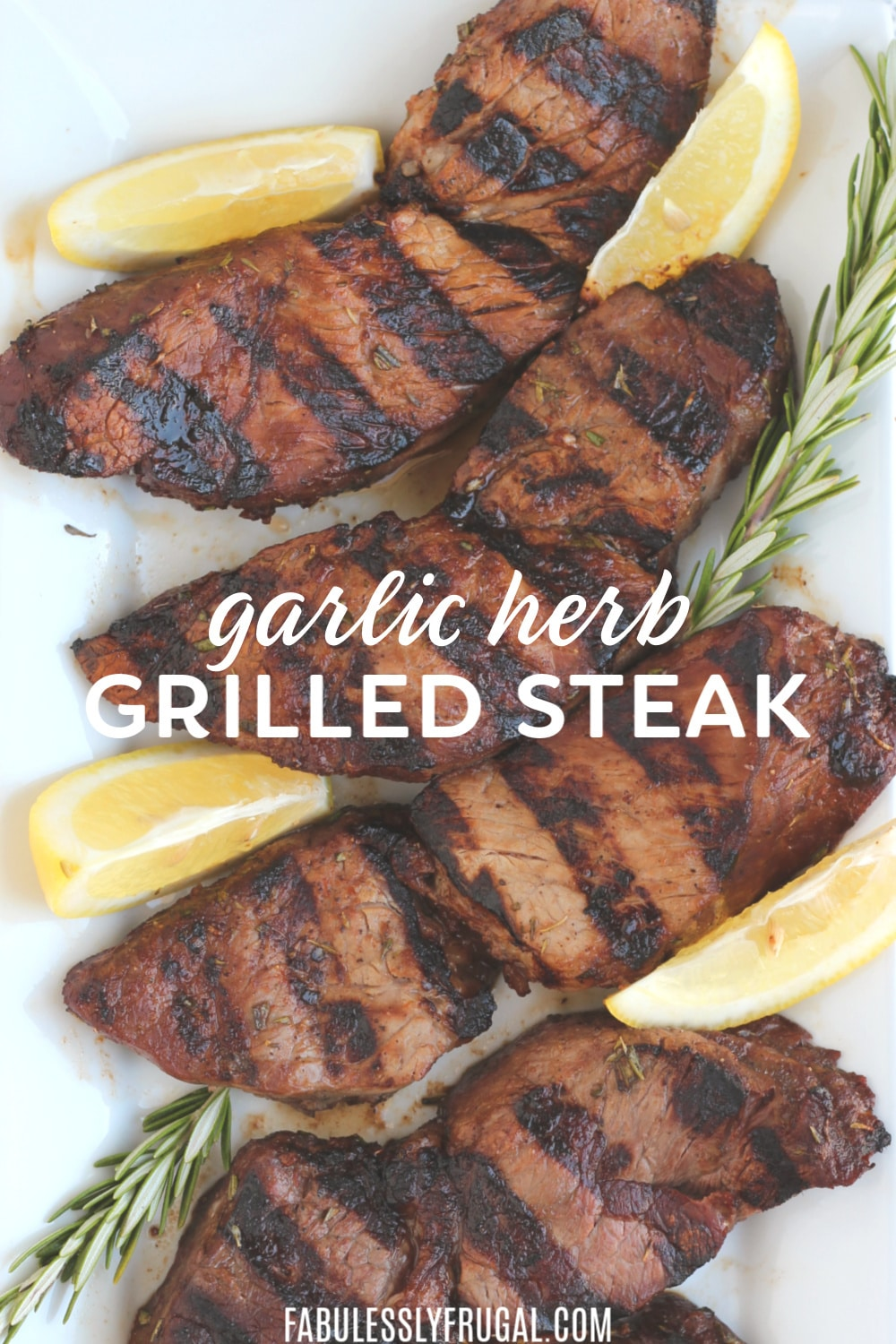 Amazing garlic herb steak tips recipe - easy and delicious