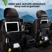 Amazon: Car Back Seat Organizer with Foldable Table $21.99 (Reg. $39.99)