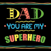Amazon: Dad You Are My Superhero Fill in the blank Book With Prompts $6.99
