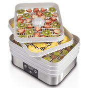 Amazon: Hamilton Beach 5-Tray Digital Food Dehydrator $38.99 (Reg. $54.99)...