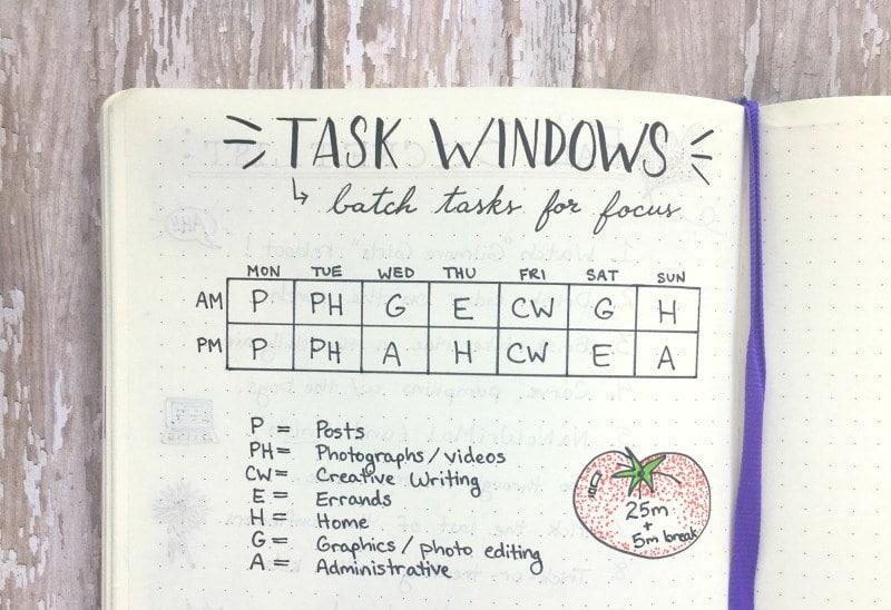 Task notebook