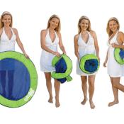 Amazon: SwimWays Spring Papasan - Mesh Float, Lime/Dark Blue $11.80 (Reg....