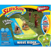 Amazon: Wham-O Slip N Slide Wave Rider Double with 2 Slide Boogies $19.79...