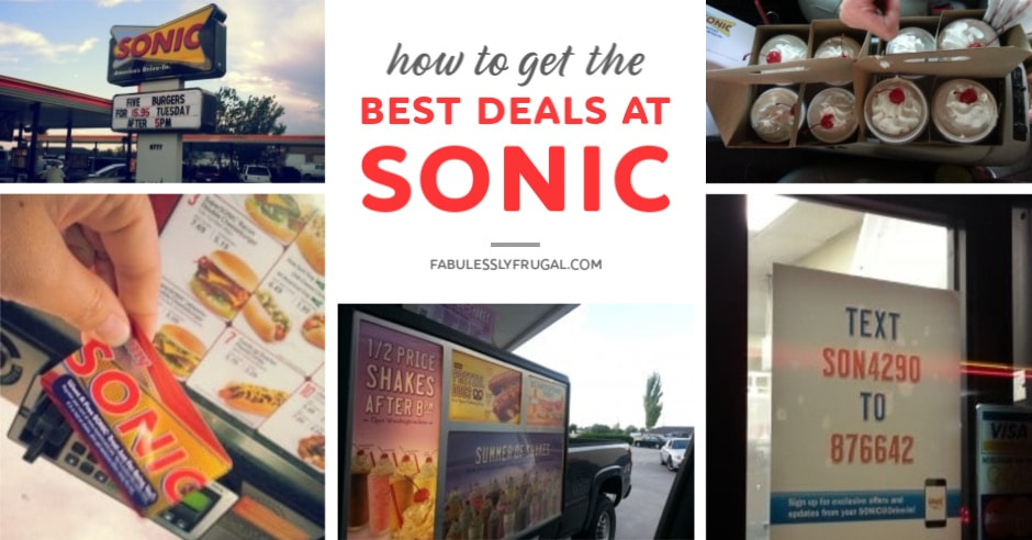 Best deals at Sonic Drive-in